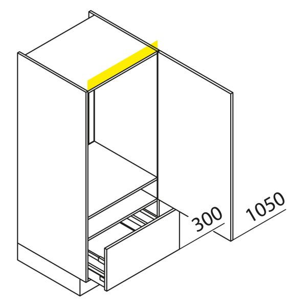 Nolte Küchen Hochschrank Geräteschrank GKA135-88