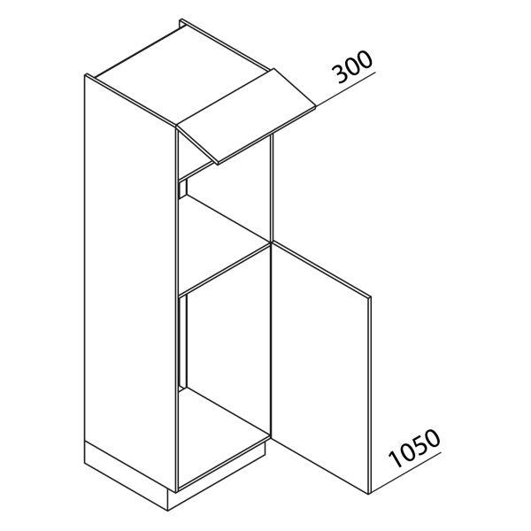 Nolte Küchen Hochschrank Geräteschrank GKB195-103-3