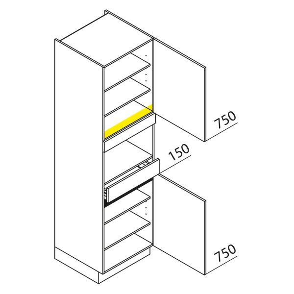 Nolte Küchen Hochschrank Geräteschrank GBS210-1