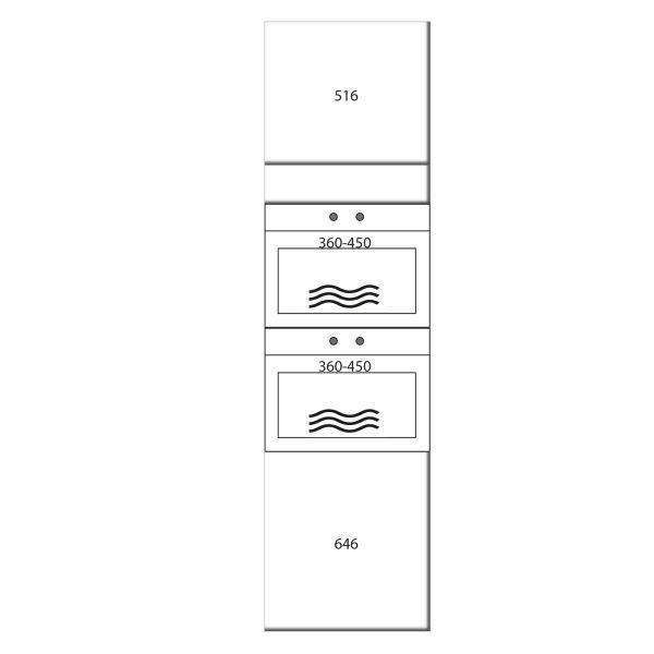 kitchenz k1 Geräteschrank GO17-MM