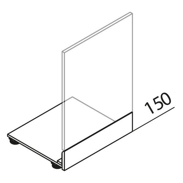 Sockelpodest für Matrix 900 GSBD45-90-60