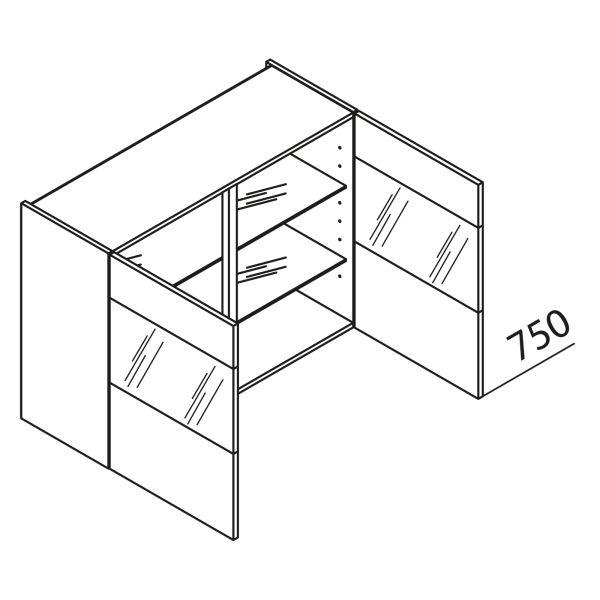 Nolte Küchen Hängeschrank mit Glas HVQ100-75