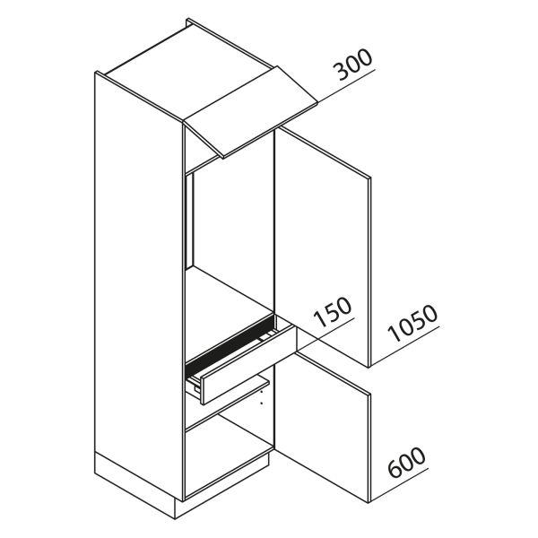 Nolte Küchen Hochschrank Geräteschrank GKS210-103