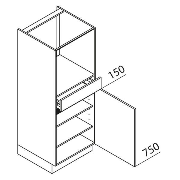 Nolte Küchen Hochschrank Geräteschrank GBS150-3