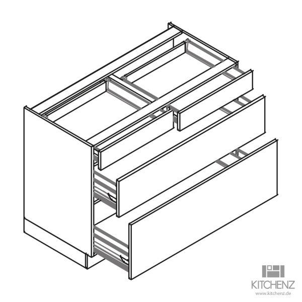kitchenz k1 Unterschrank U6-100SSZ2
