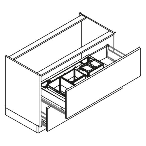 kitchenz k1 Unterschrank DU6-120Z2AB3