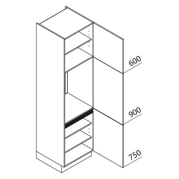 Nolte Küchen Hochschrank Geräteschrank GK225-88