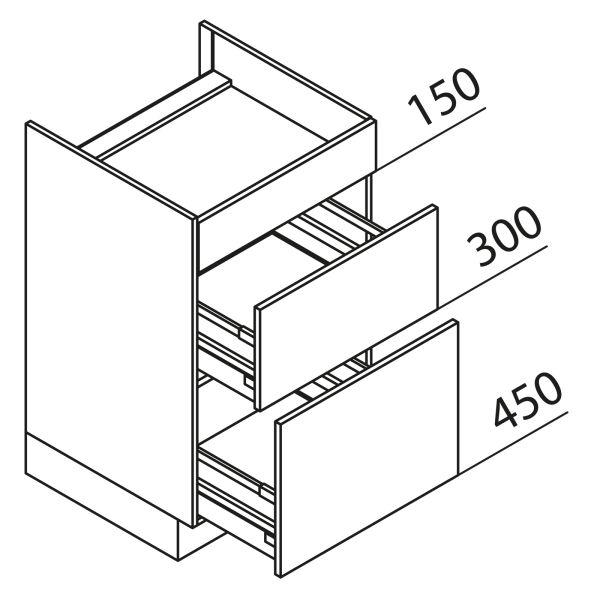 Nolte Küchen Unterschrank Kochstellenschrank KAK90-90-60