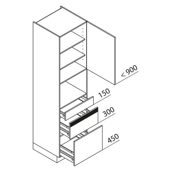 Nolte Küchen Hochschrank Geräteschrank GBZ225-4
