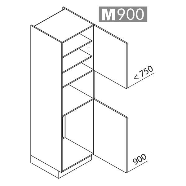 Nolte Küchen Hochschrank Geräteschrank GKB210-88-4