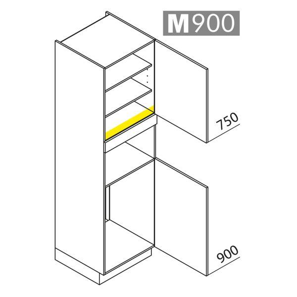 Nolte Küchen Hochschrank Geräteschrank GKB210-88-1