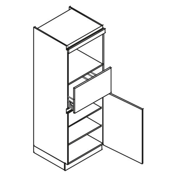 kitchenz k1 Geräteschrank AGO13-MZ