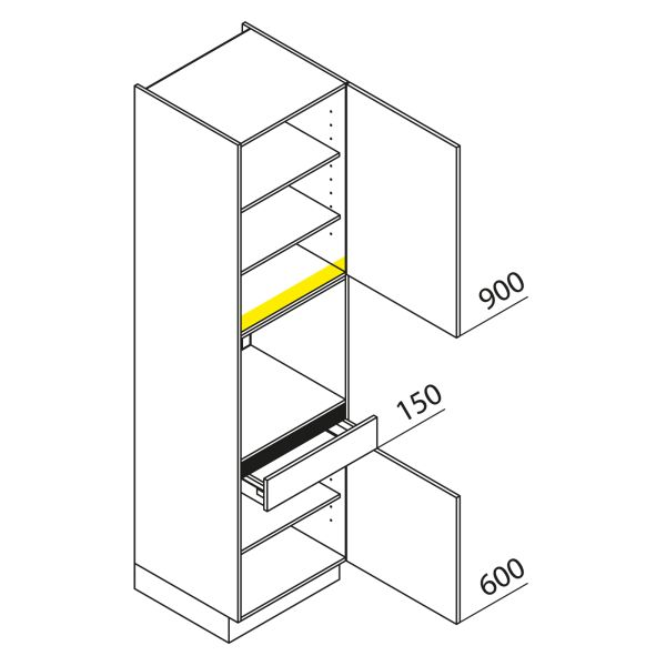 Nolte Küchen Hochschrank Geräteschrank GBS225-3