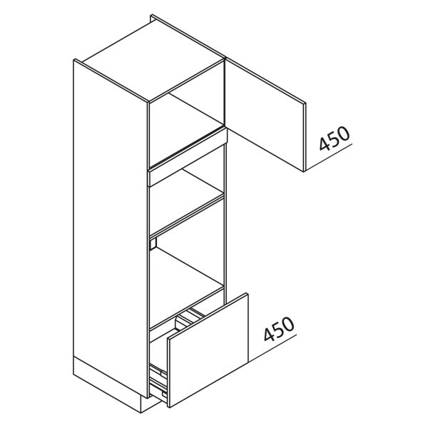 Nolte Küchen Hochschrank Geräteschrank GBBA195-3-1-01