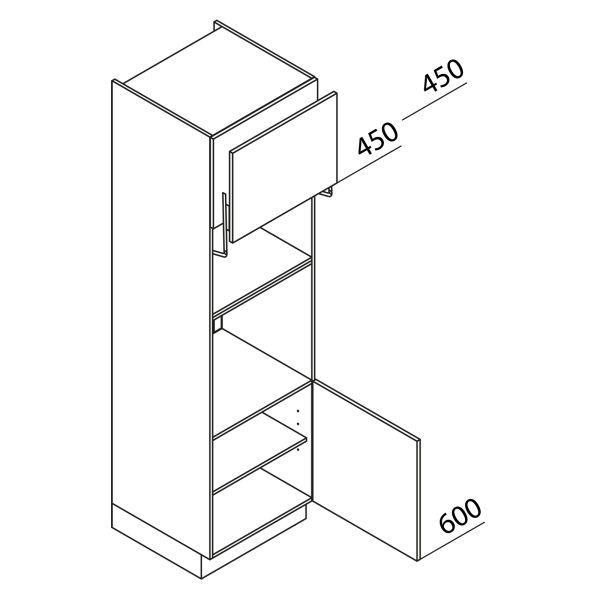 Nolte Küchen Hochschrank Geräteschrank GBL210-3
