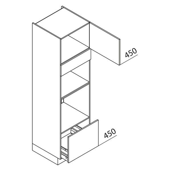 Nolte Küchen Hochschrank Geräteschrank GBBA210-3-2-01