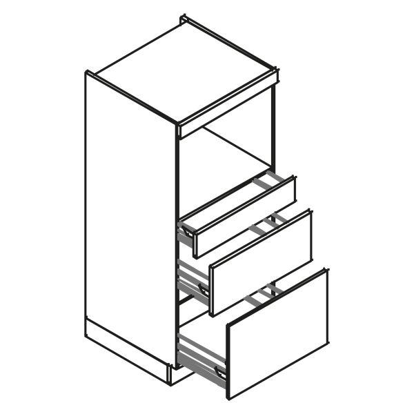 kitchenz k1 Geräteschrank GO10-MSZ2