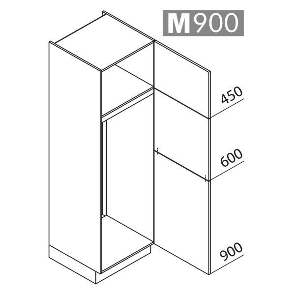Nolte Küchen Hochschrank Geräteschrank GK195-144-01
