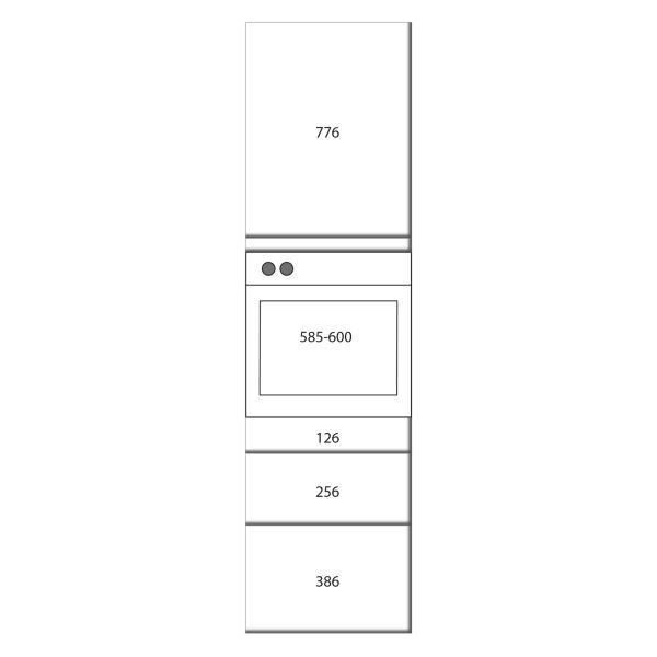 kitchenz k1 Geräteschrank DGO17-ESZ2