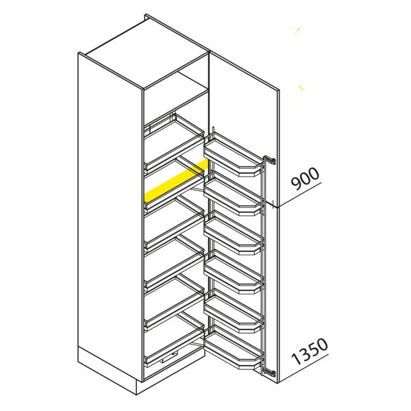 Nolte Küchen Hochschrank VVK60-225-H