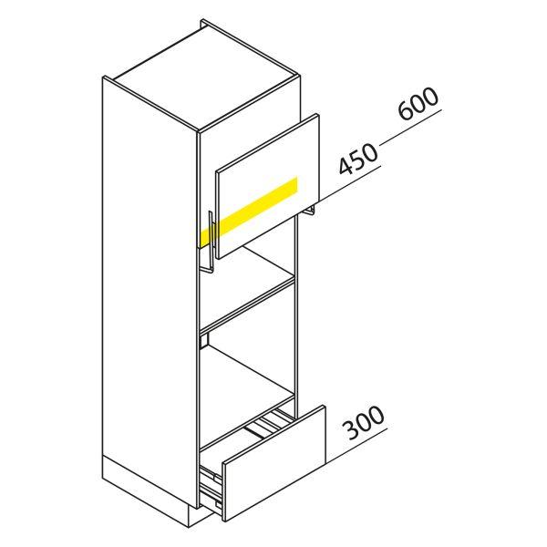 Nolte Küchen Hochschrank Geräteschrank GBLA195-3