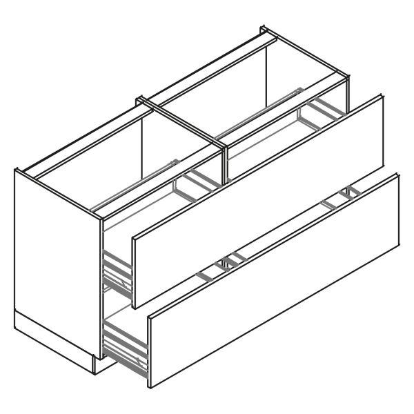 kitchenz k1 Unterschrank U6-180Z2
