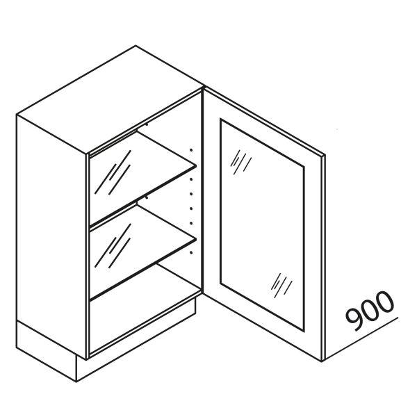 Nolte Küchen Unterschrank mit Glas UDDV80-90-39