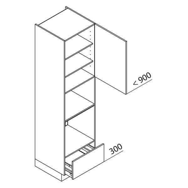 Nolte Küchen Hochschrank Geräteschrank GBBA225-3-4