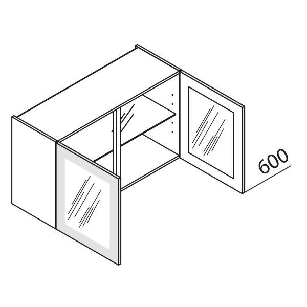 Nolte Küchen Hängeschrank mit Glastür DS HVDS80-60