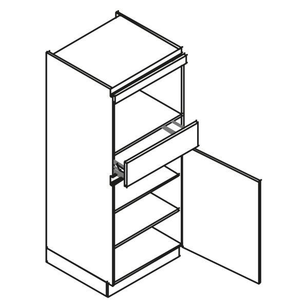 kitchenz k1 PUR Geräteschrank AGO11-MS