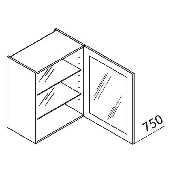 nolte k chen glas h ngeschrank hvdf50 75 g nstig kaufen. Black Bedroom Furniture Sets. Home Design Ideas