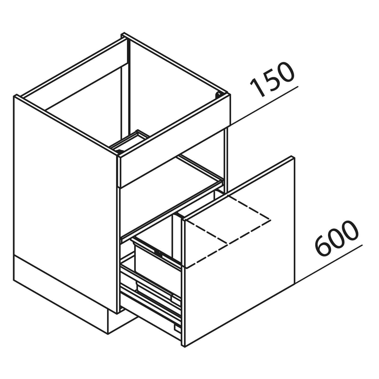 nolte k chen unterschrank sp lenschrank sab50 02. Black Bedroom Furniture Sets. Home Design Ideas
