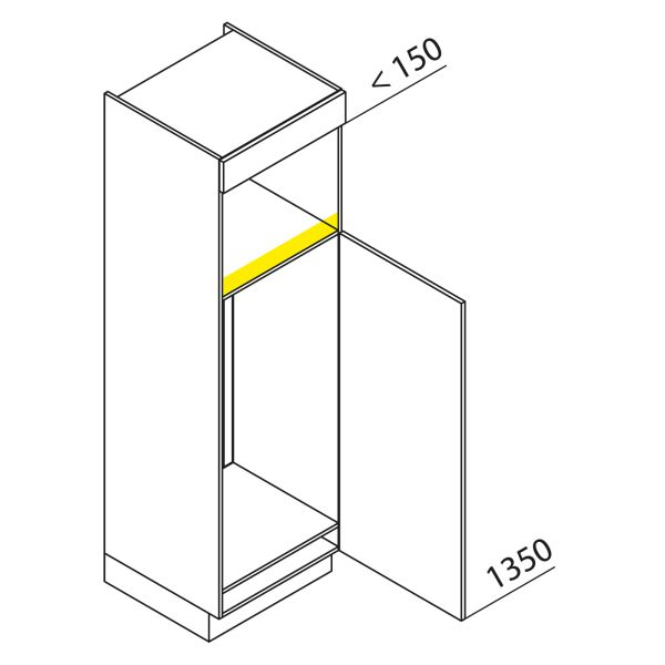 Nolte Küchen Hochschrank Geräteschrank GKB195-123-4-10