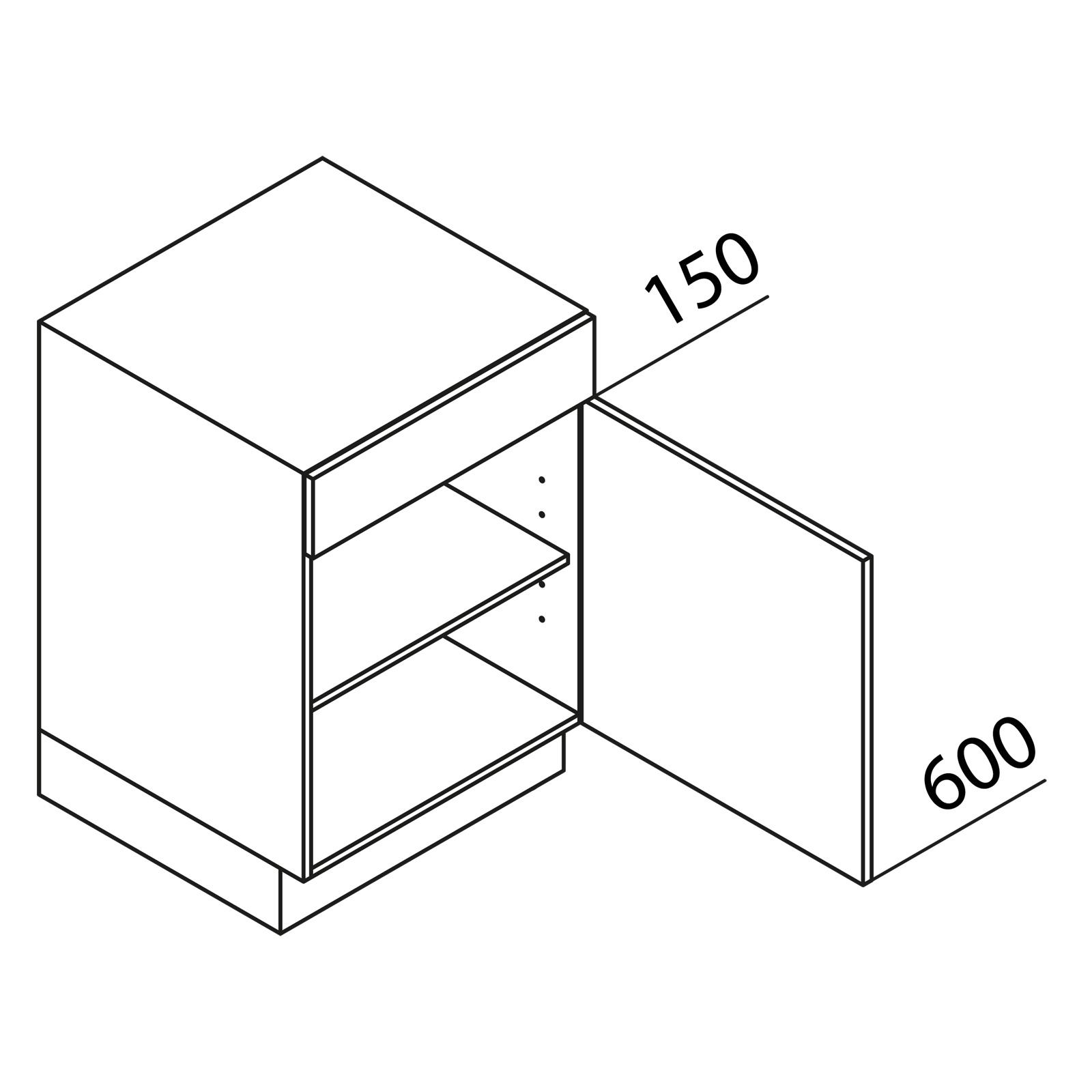 nolte k chen unterschrank udp50. Black Bedroom Furniture Sets. Home Design Ideas