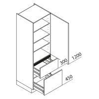 Hochschrank Nolte Küchen VZ50-195