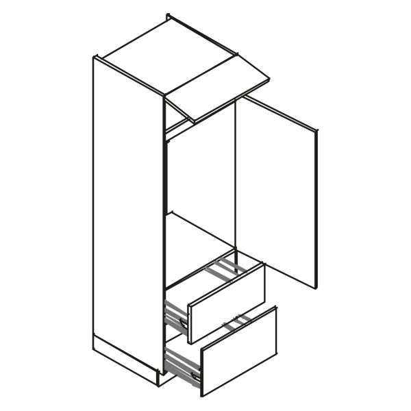 kitchenz k1 Geräteschrank DGI15-103Z2