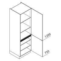 Hochschrank Nolte Küchen VT60-195