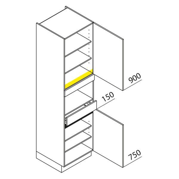 Nolte Küchen Hochschrank Geräteschrank GBS225-1