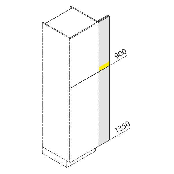 Nolte Küchen Hochschrank Passstück Frontbezogen SP3-225-H