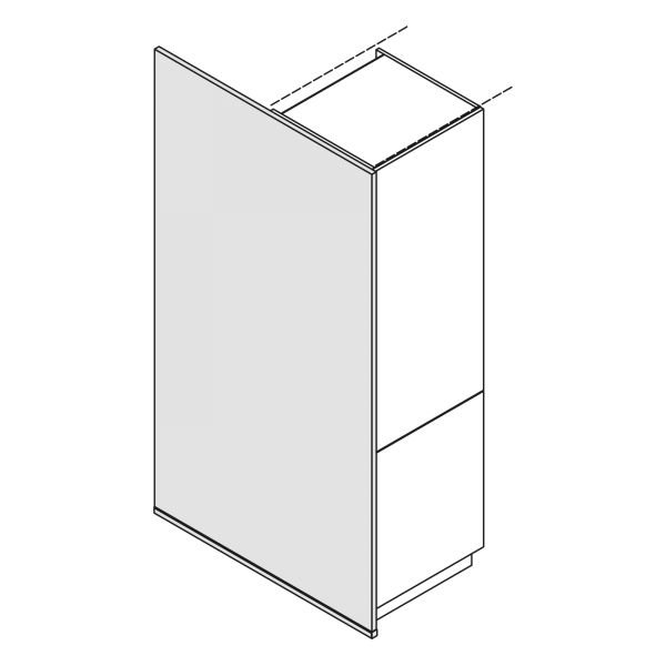 Nolte Küchen Hochschrank Wange Bodentief WA-S210-120