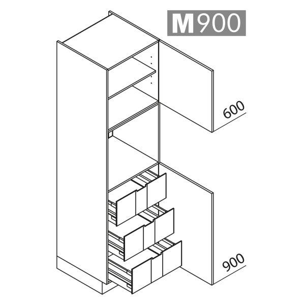 Nolte Küchen Hochschrank Geräteschrank GBI210-3-01