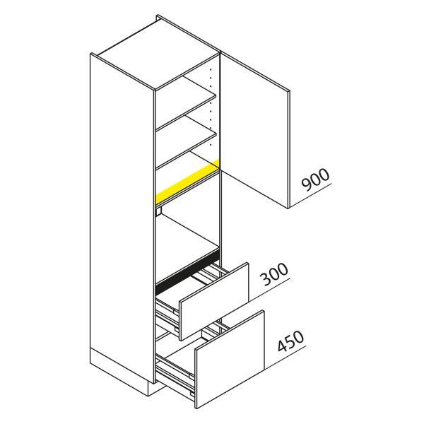Nolte Küchen Hochschrank Geräteschrank GBZ225-3