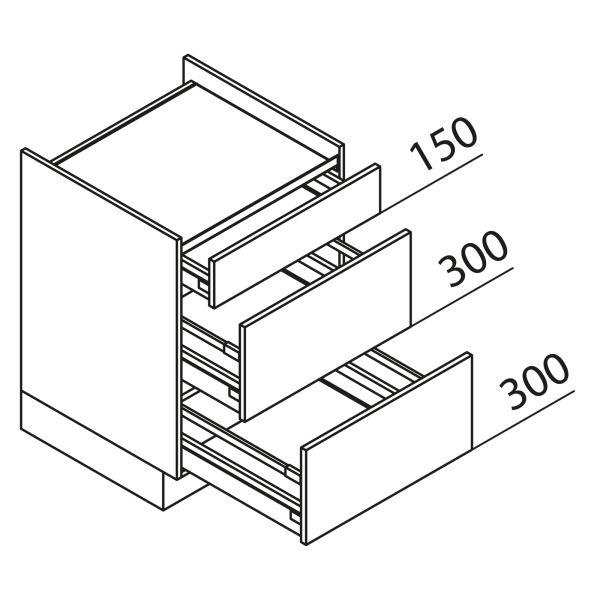 Nolte Küchen Unterschrank Kochstellenschrank KUAK80-H2