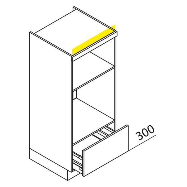 Nolte Küchen Hochschrank Geräteschrank GBBA135-3-1