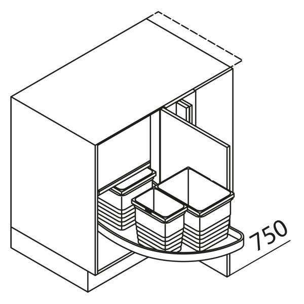 Nolte Küchen Unterschrank Eckspülenschrank UEPSZ115-65