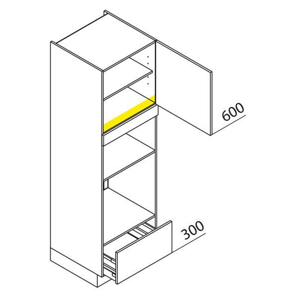 Nolte Küchen Hochschrank Geräteschrank GBBA195-3-1