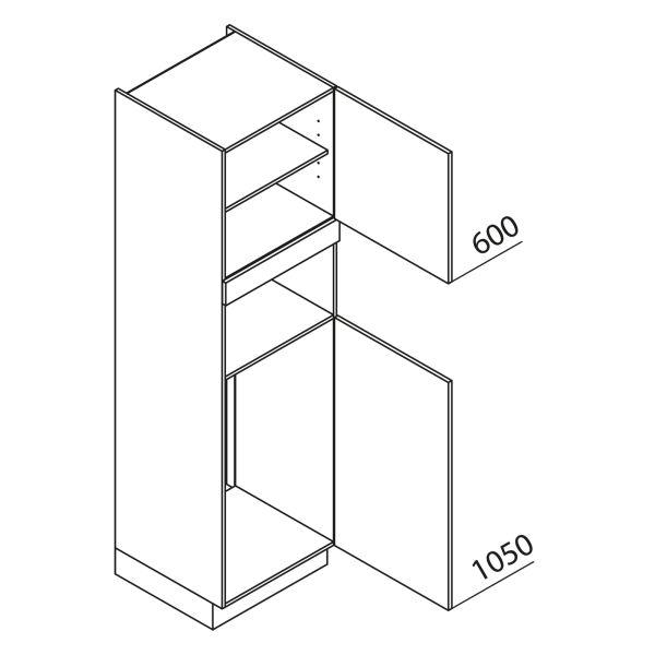 Nolte Küchen Hochschrank Geräteschrank GKB210-103-1