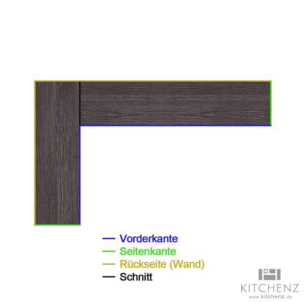 kitchenz k1 L-Arbeitsplatte AP-L1