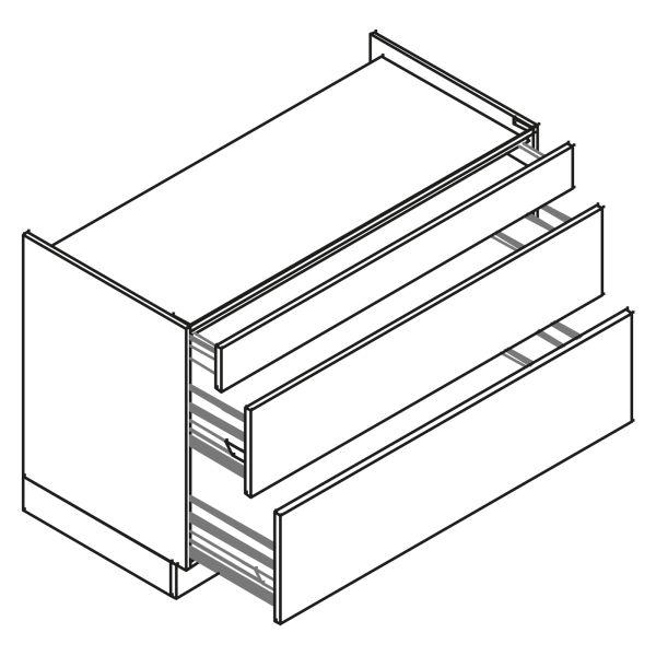 kitchenz k1 Geräteschrank DUK6-100SZ2
