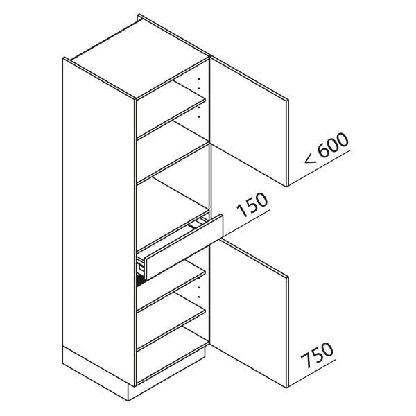 Nolte Küchen Hochschrank Geräteschrank GBS195-4